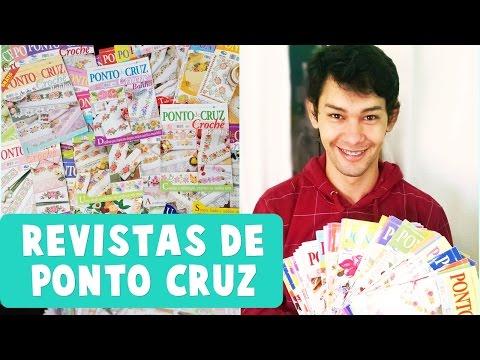 Revistas de PONTO CRUZ - ED. Bordados Modernos | Parceria