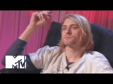 Kurt Cobain Talks Music Videos, His Stomach & Frances Bean | MTV News
