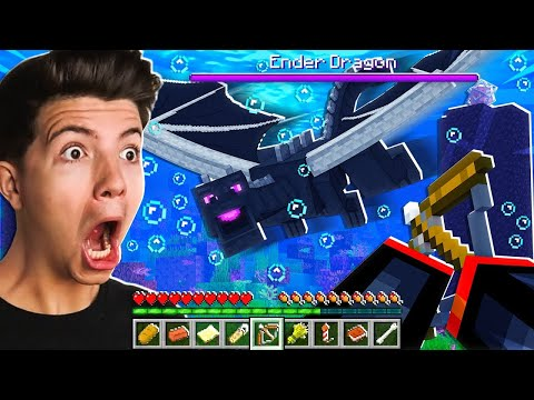Beating Minecraft without Leaving the Water...