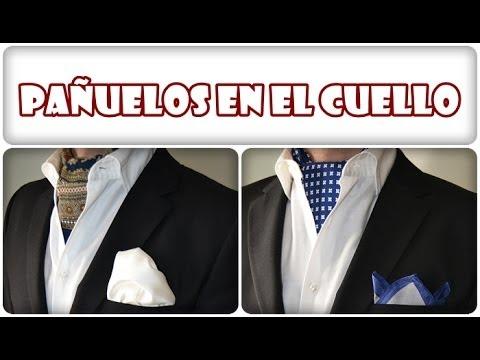 Moda para hombre: C�mo poner pa�uelos en el cuello de forma f�cil by felixbnitez.com