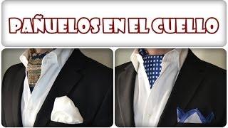 Cómo poner pañuelos en el cuello de forma fácil. Imágenes de pañuelos de cuello para hombre.