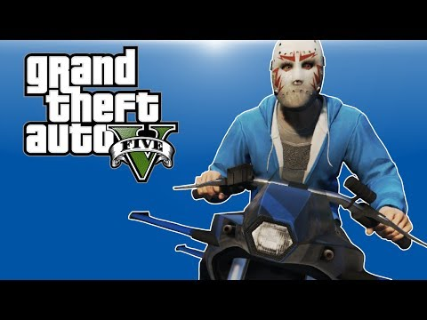 GTA 5 PC Online - Gunrunning DLC Funny Moments! - (ROCKET BIKE & BIG TRUCKS!)