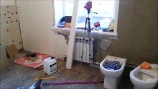 Простой ремонт ванной комнаты с СВП ч.4