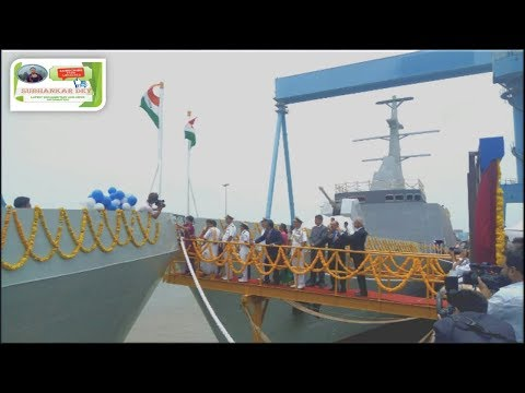 Reliance Defence and Engineering Limited launches two Navy ships Shachi and Shruti || pipavav