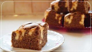 Dwukolorowe ciasto poduszkowiec
