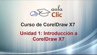 Curso de CorelDRAW X7. 1.1. Pantalla inicio.