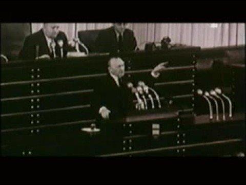 CDU Adenauer zum Wehrbeitrag 1952
