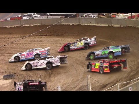 Super Late Model Heat Two | Old Bradford Speedway | 8-13-17