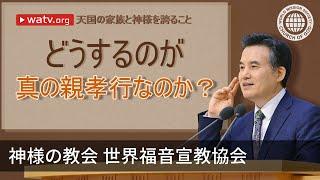 【日本語, Japanese】 [この映像物の著作権は、神様の教会 世界福音宣教協会にあります。無断転載及び配布を禁じます。] 神様を心と思いを尽くし...