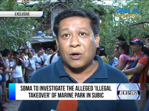SBMA TO INVESTIGATE THE ALLEDGED 'ILLEGAL TAKEOVER' OF MARINE PARK IN SUBIC