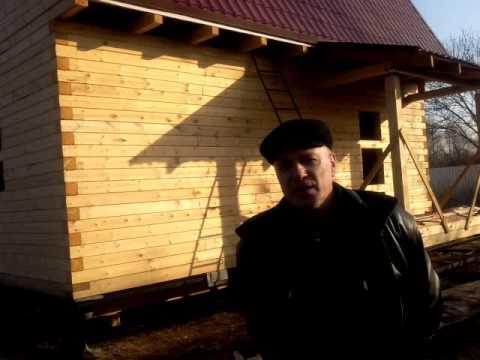 Строительство домов из бруса москва смотреть видео онлайн