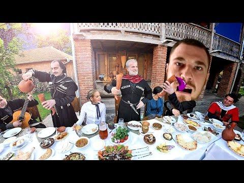 10. Галилео - Грузинские Хинкали Vs. Узбекские Манты. - YouTube