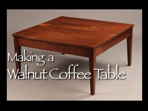 Custom Coffee Table Building Process By Doucette And Wolfe Fine Handmade  Furniture   YouTube