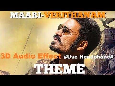 Maari BGM - 3D Audio #Use Headphone for 3D Audio Effect#