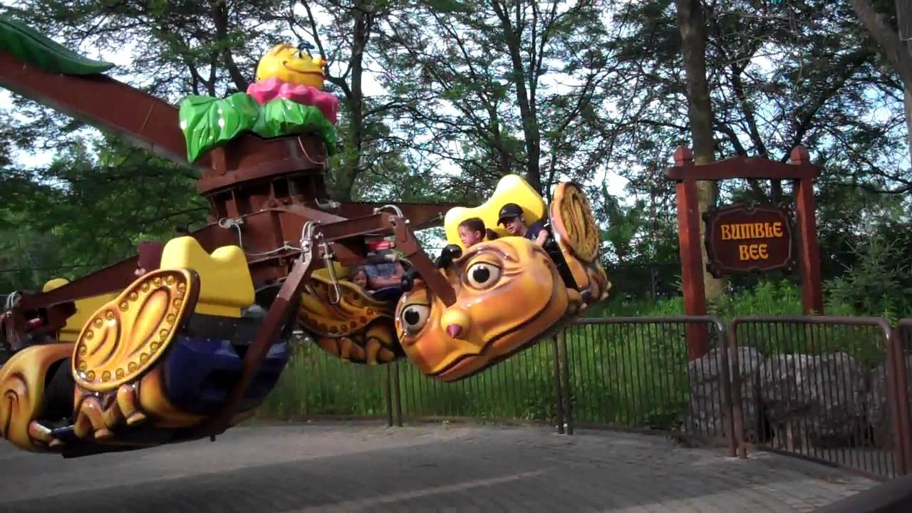 Bumble Bee ride at MarineLand - YouTube