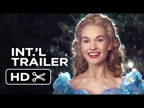 Cinderella Official International Trailer #1 (2015) - Helena Bonham Carter, Lily James Movie HD
