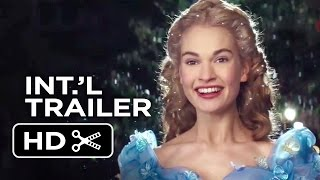 Cinderella Official International Trailer #1 (2015) - Helena Bonham Carter, Lily James Movie HD