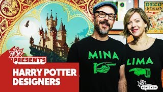MinaLima Interview | Harry Potter Graphic Designers | MCM Presents
