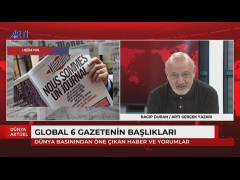 Ragıp Duran'la Global Medya:Erdoğan Libya,Doğu Akdeniz,Ayasofya politikaları ned