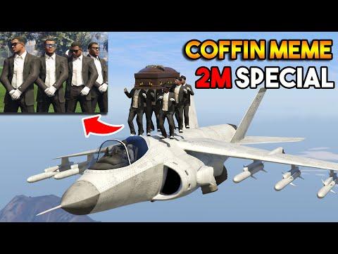 GTA 5 COFFIN MEME FUNNY MOMENTS (2 Million Special)