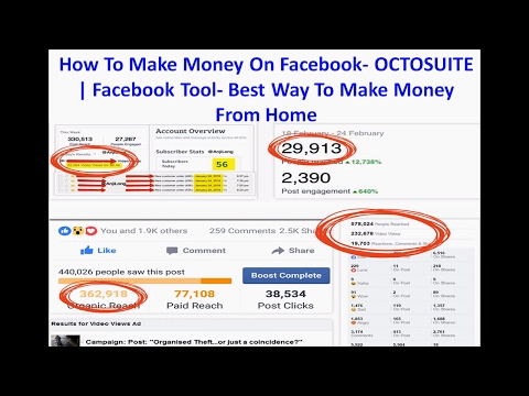 How To Make Money Online On Facebook | Facebook Tool Software- Best Way To Make Money From Home