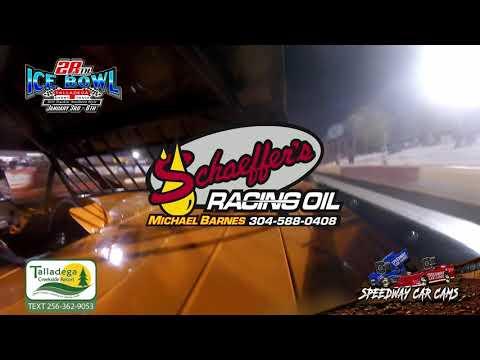 #73 Dustin Halbrooks - KMSA Mini Stock - 1-6-19 Talladega Short Track - In Car Camera