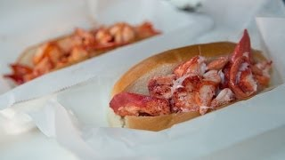 How To Make Maine Lobster Rolls Hot and Cold   Sandwich Recipes