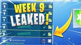 WEEK 9 CHALLGES LEAKED - Fortnite Season 5 - The0P