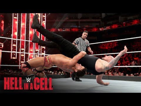 Chad Gable powers through with a German Suplex on King Corbin: WWE Hell in a Cell 2019