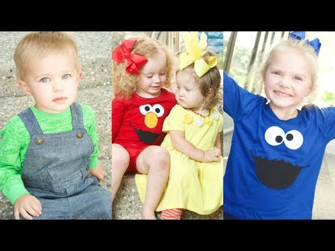 HOW TO CUT FELT WITH THE CRICUT MAKER -DIY Sesame Street Shirt COSTUMES