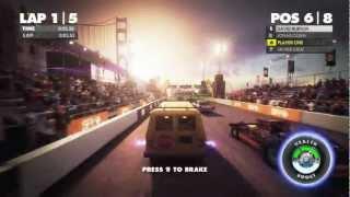 Dirt Showdown GamePlay (HD/PC) 1080P _ I5 2500K + GTX 560TI