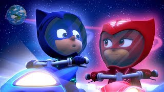 PJ Masks Full Episodes Season 2 Moonstruck 🚀 PJ Rocket! ⭐️ Super Moon Adventure | PJ Masks Official