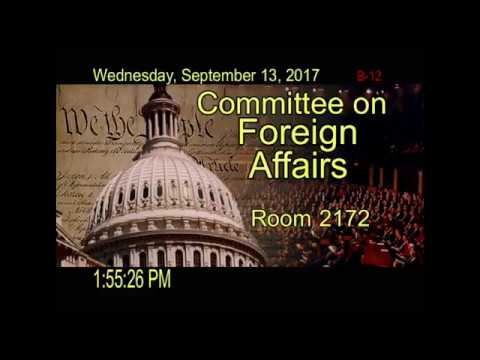 THE US HOUSE COMMITTEE ON FOREIGN AFFAIRS SPECIAL SECESSION ON LIBERIA...