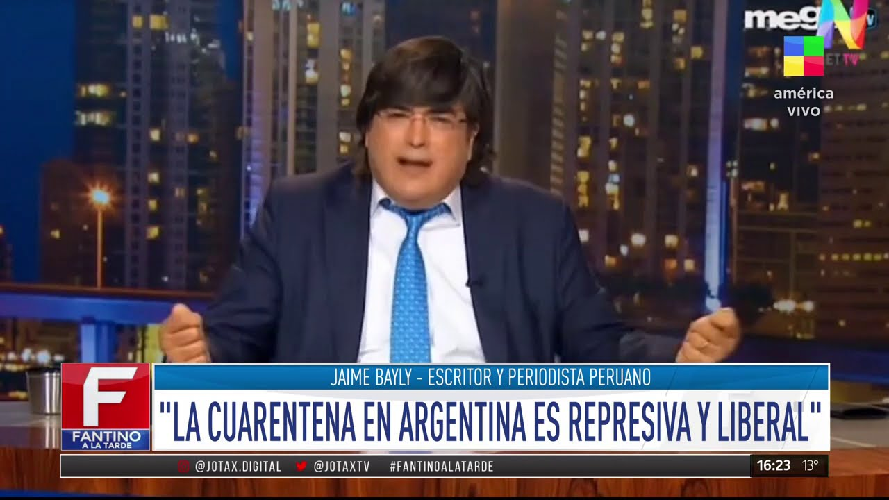 Jaime Bayly Contra La Abusiva Cuarentena En Argentina Youtube Vendía cocaína al cartel de sinaloa y era el socio de 'el chapo'. jaime bayly contra la abusiva cuarentena en argentina