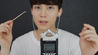 figcaption [Sub] Korean ASMR Various Ear Cleaning Sounds Test