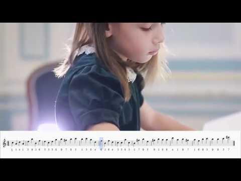 Музыка числа Пи. Фортепиано.