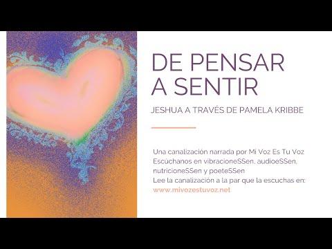 DE PENSAR A SENTIR - Una canalización de Jeshua a través de Pamela Kribbe