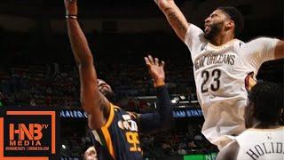 Utah Jazz vs New Orleans Pelicans 1st Half Highlights / March 11 / 2017-18 NBA Season