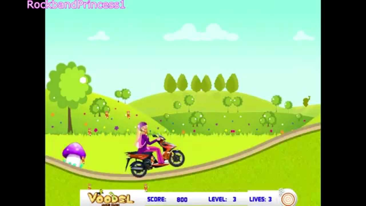games car barbie