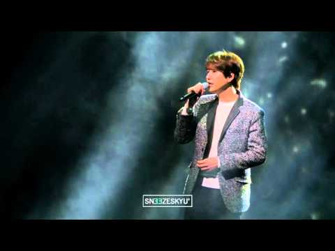[Sneezes' Cam] 160312 Kyuhyun - Because I miss you (2016 Mercedes Fan's Night)