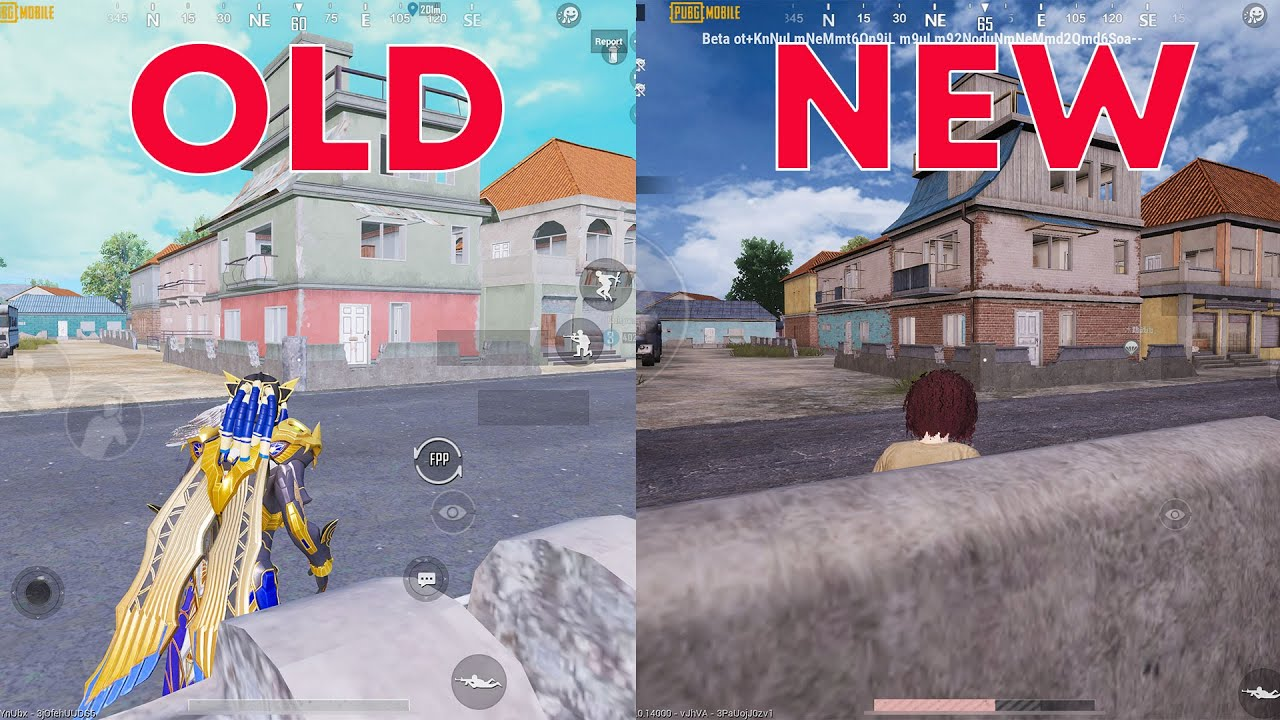 NEW UPDATE MAP ERANGEL 2.0 - PUBG MOBILE