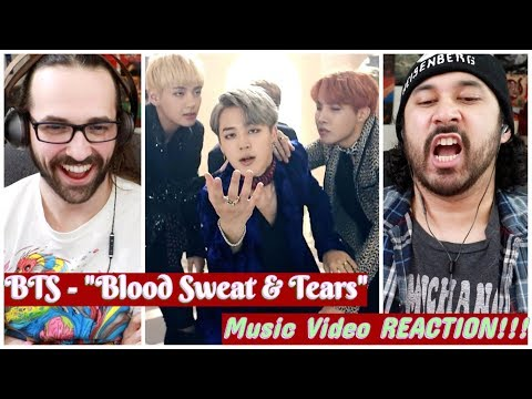 BTS (방탄소년단) '피 땀 눈물 (Blood Sweat & Tears)' Official MV - REACTION!!!