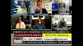 ΙΩΑΝΝΗΣ ΠΑΠΠΑΣ - TV KOSMOS (20-5-21)