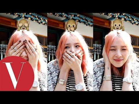 韓國潮模 irene kim示範最愛的 emojis表情!每一款都好可愛喔~~~