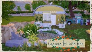 Sims 4 - Caravan Lot with Lake