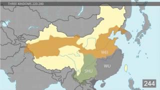 История на карте Китая: от -2000 до +2000. От древности до наших дней / Магазета