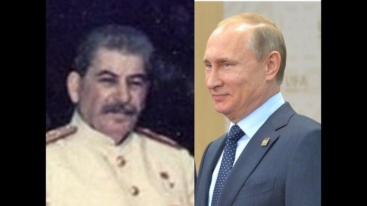 Сталин круче Путина?