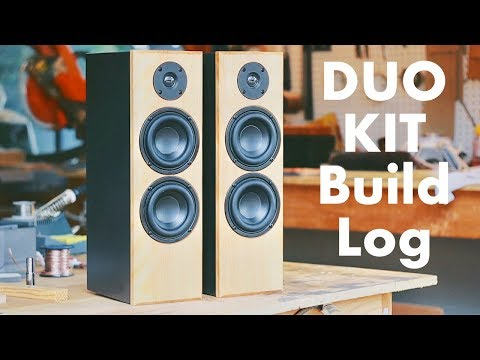 DIY Speaker Build Log: The KMA DUO KIT || KMA + Parts Express Build Kit?