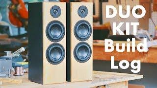 DIY Speaker Build Log: Tнe KMA DUO