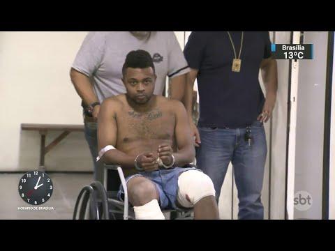Criminoso assalta joalheria, tenta fugir e acaba baleado pela polícia | SBT Notícias (15/06/18)